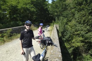 3 family Mayenne Cycle