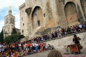 Avignon's contemporary performing arts festival