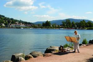 Gerardmer lake