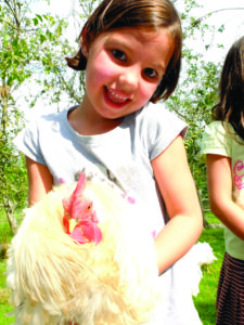 Eating in Creuse - Friends in the farm