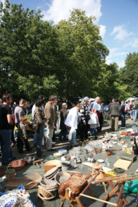 Lille's famous annual antiques jamboree, the braderie