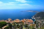 Breath-taking view of one of France's top tourist destincation, Cote d'Azur