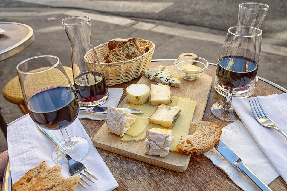 French Wine and Cheese ©Skeeze