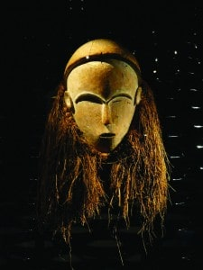 African tribal mask in the superb Vielle Charite Ethnographic Museum