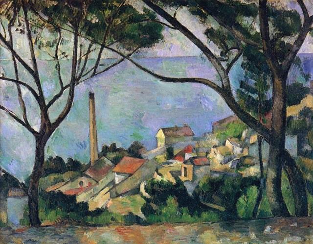 Cézanne's La Mer à L'Estaque
