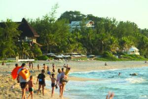 Réunion's beach life