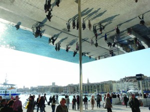 Norman Foster's giant mirror has been a popular addition to Marseille's transformed waterfront