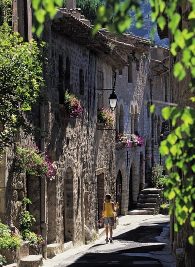 Saint-Guilhem-Le-Désert in the Languedoc