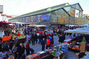Saint-Denis' market