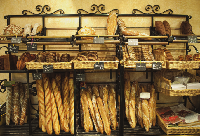 At the boulangerie: give us our daily baguette