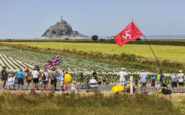 The Tour de France brings huge crowds out to enjoy the sights and action