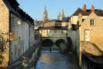 Bayeux's medieval centre