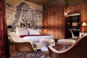 Photo by kind permission of Hotel Du Petit Moulin Paris