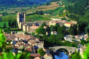 Lagrasse is one of the country's Plus Beaux Villages