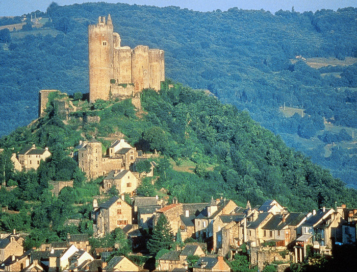 Najac castle in Aveyron