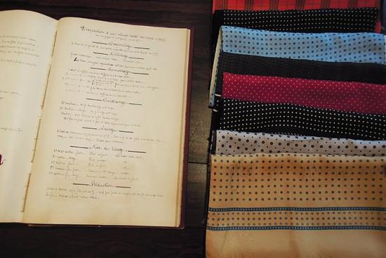 Lyon silk scarves