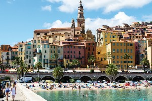 Menton French Riviera
