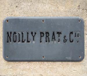 noilly prat stone slab sign