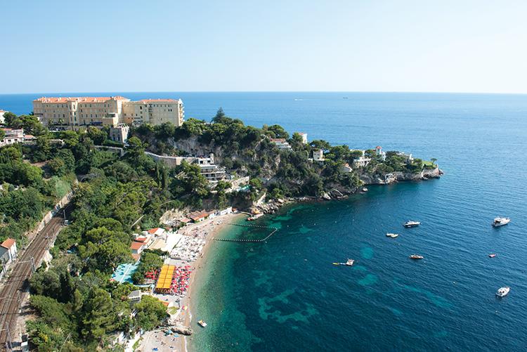 Plage Mala on the Côte d'Azur