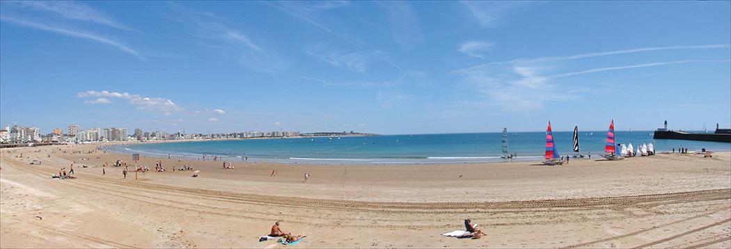 Sables d'Olonne beach in Vendée