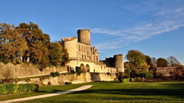 A castle in Landes