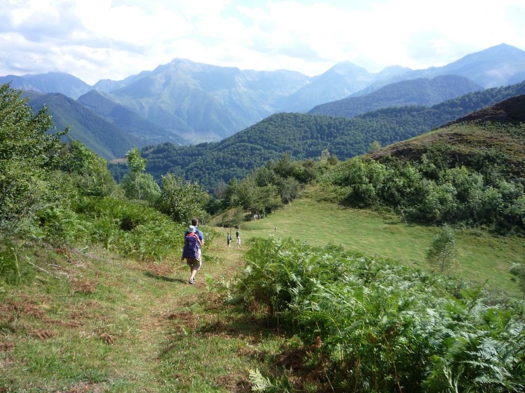 Walking in the pyrenees photo by Nadia Jordan