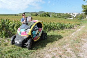 Exploring the vineyards of Champagne