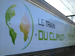 Train du Climat in DIjon France ©Sylvia Davis