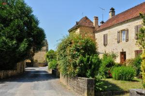 Dordogne village house Proissans