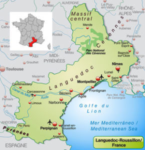 Limoux France Map.Languedoc Map For Property Guide