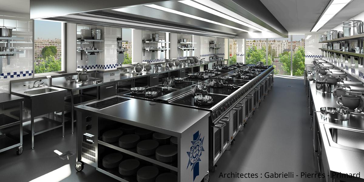 Le Cordon Bleu cuisine school ©Cordon Bleu