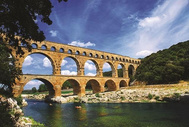 Pont du Gard, near Nîmes.