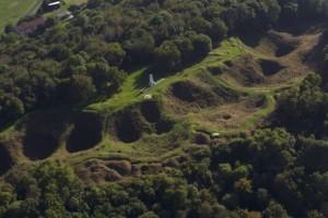 Vauquois Hill in Meuse, Lorraine (G. Ramon)
