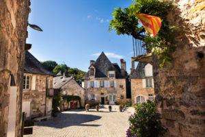 Limousin village Turenne