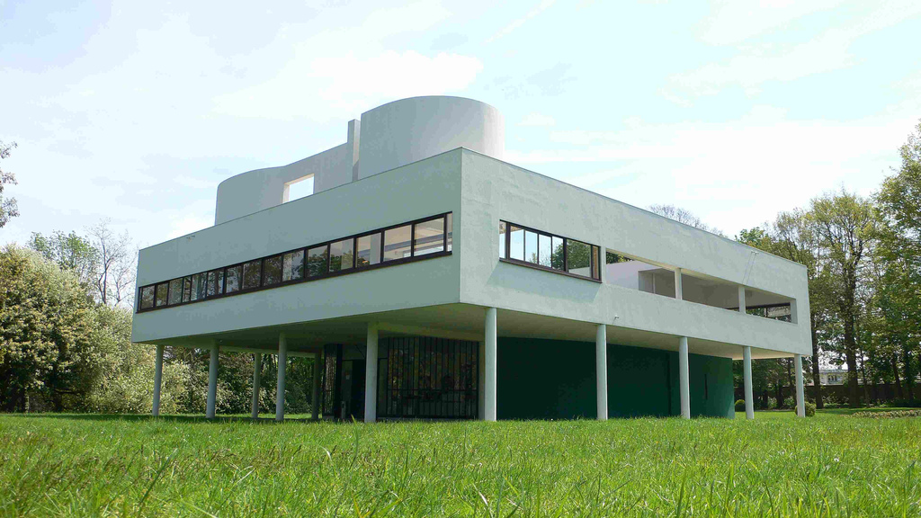 Design notes modernist architecture in france for Architecture le corbusier