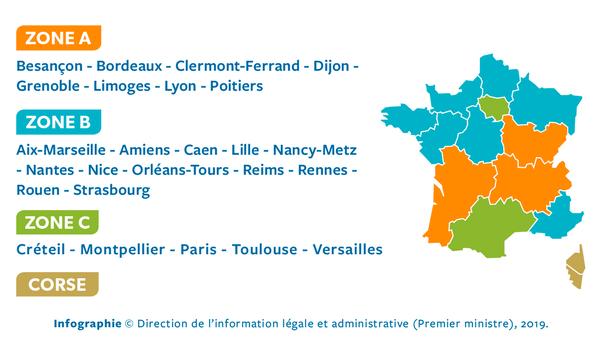 French school zones