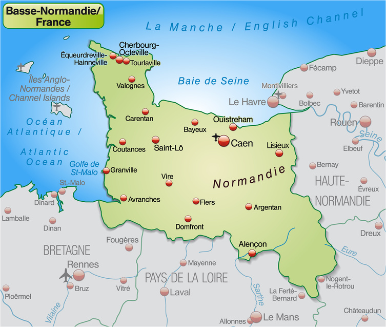 Evreux France Map.Lower Normandy Map