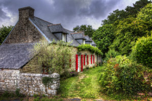 Normandy farmhouse