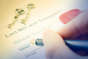 French and English Wills