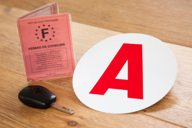Driving licence in France