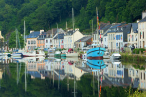 Boats in Brittany