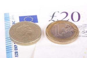 euro vs the pound