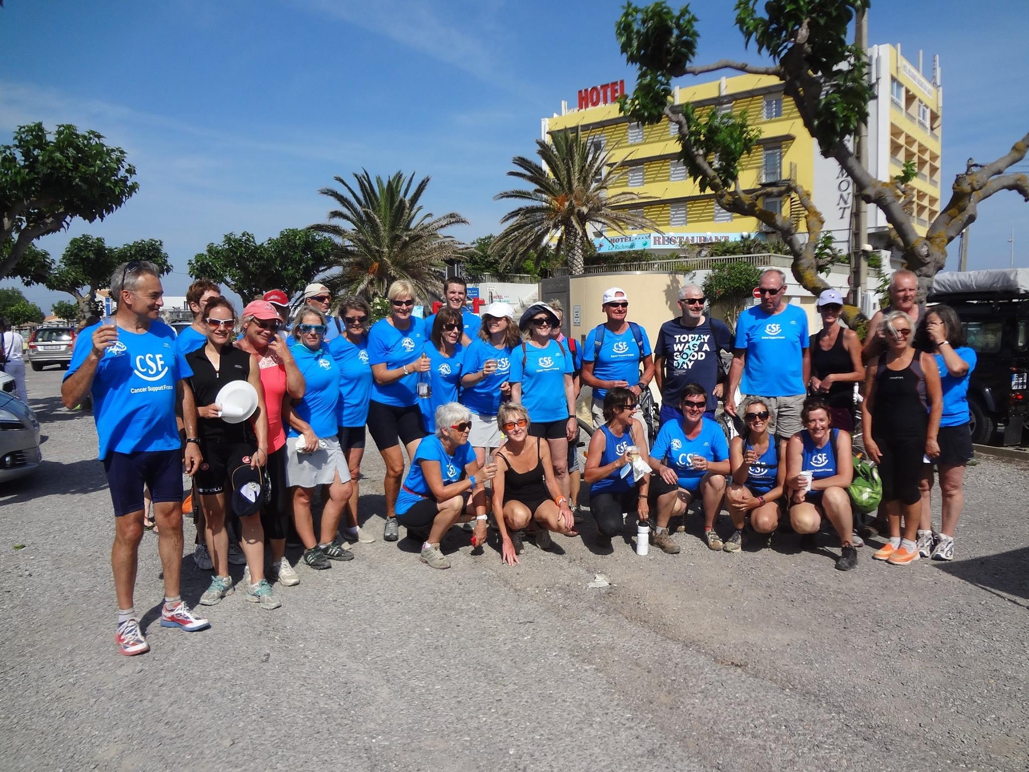 CSF - Canal de Garonne Charity Bike Ride 2016