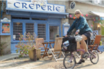Creperie store in Brittany France