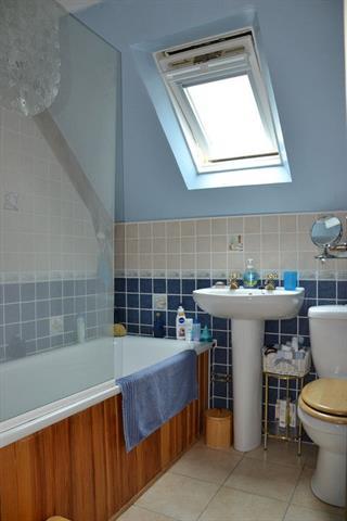renovated farmhouse bathroom