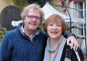 Janie Millman and Mickey Wilson