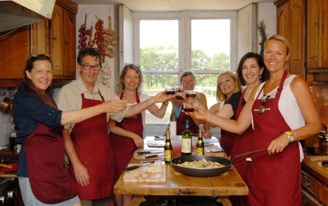 Cooking classes at La Vie du Chateau