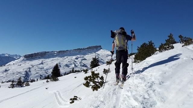A ski tour