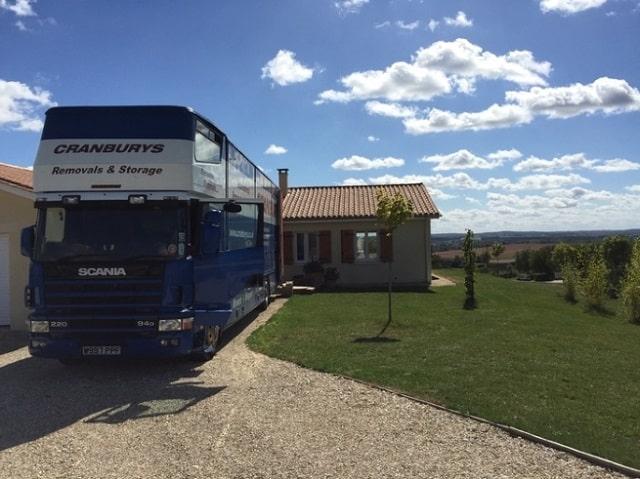 Cranbury Removals truck