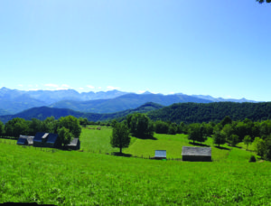 The unspoilt paysage of the Ariège